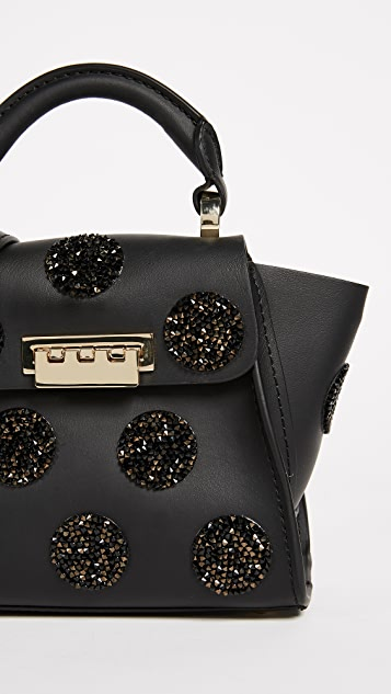 ZAC Zac Posen Eartha Mini Top Handle Bag with Crystals