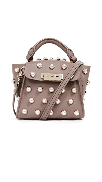 ZAC Zac Posen Pearl Lady Eartha Mini Top Handle Bag