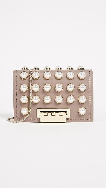 0babc290f9bb ZAC Zac Posen Pearl Lady Earthette Card Case with Chain