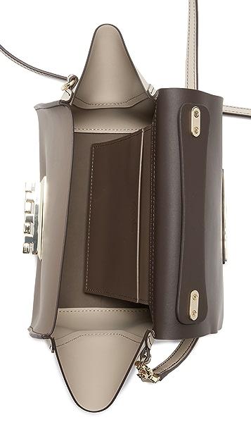 ZAC Zac Posen Colorblock Eartha Iconic Top Handle Cross Body Bag