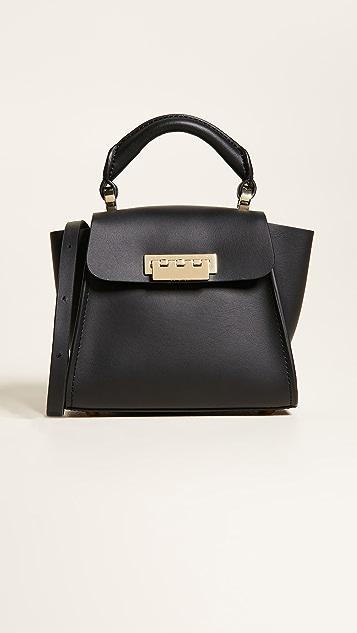 ZAC Zac Posen Eartha Iconic Mini Bag with Belted Top Handle - Black