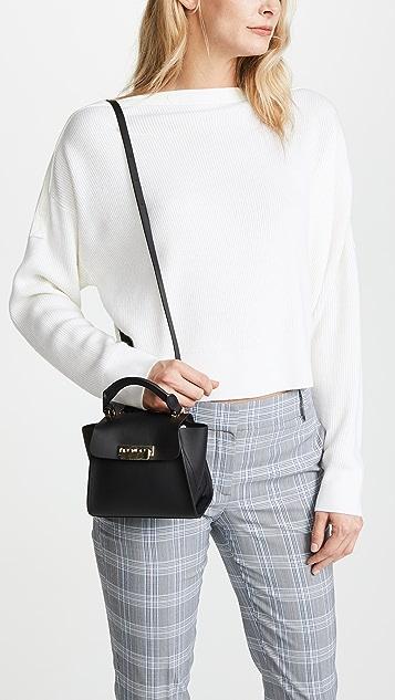 ZAC Zac Posen Eartha Iconic Mini Bag with Belted Top Handle