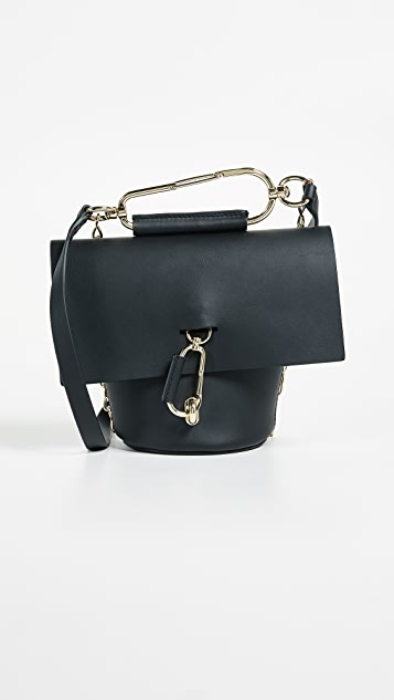 ZAC Zac Posen Belay Cross Body Bag with Chain - Black
