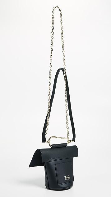 ZAC Zac Posen Belay Cross Body Bag with Chain