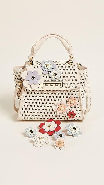 ZAC Zac Posen Миниатюрная сумка Eartha Hex Floral Kit с ручкой сверху
