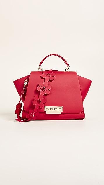 ZAC Zac Posen Eartha Iconic Soft Top Handle Bag - Red