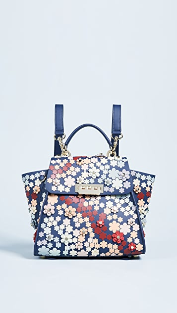 ZAC Zac Posen Eartha 3D Printed Convertible Backpack