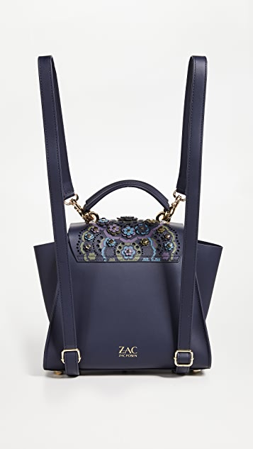 ZAC Zac Posen Eartha Printed Convertible Backpack