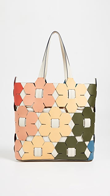 ZAC Zac Posen Eartha Hex Floral Tote Bag
