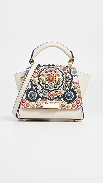 ZAC Zac Posen Eartha Printed Mini Top Handle Bag