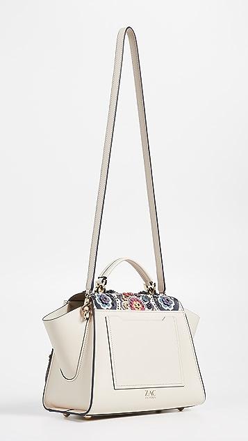 ZAC Zac Posen Eartha Printed Soft Top Handle Bag