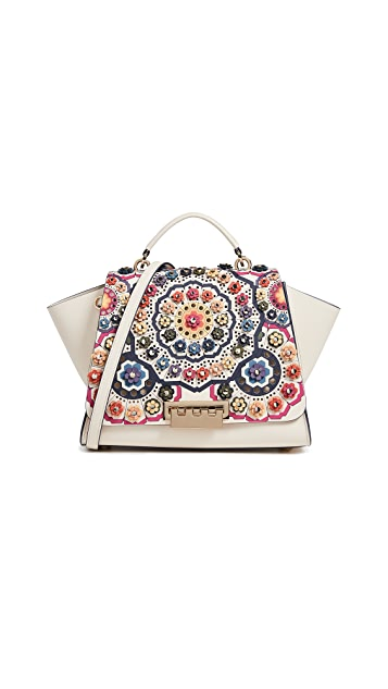 ZAC Zac Posen Eartha Printed Soft Top Handle Bag