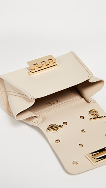 ZAC Zac Posen Eartha Imitation Pearl Mini Chain Cross Body Bag