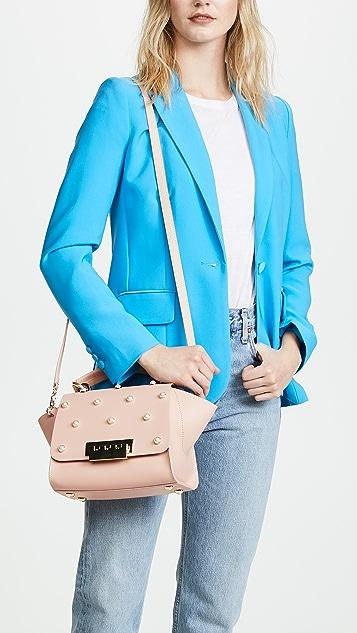 ZAC Zac Posen Eartha Imitation Pearl Top Handle Cross Body Bag