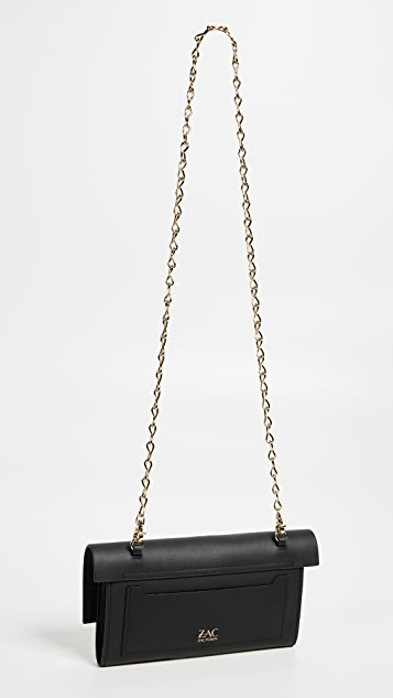 ZAC Zac Posen Belay Clutch Crossbody Bag