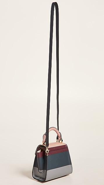 ZAC Zac Posen Eartha Novelty Printed Mini Top Handle Bag