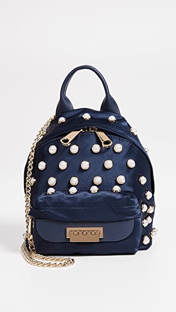ZAC Zac Posen Eartha Iconic Micro Chain Backpack