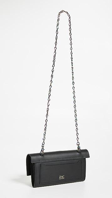 ZAC Zac Posen Belay Clutch Crossbody Bag