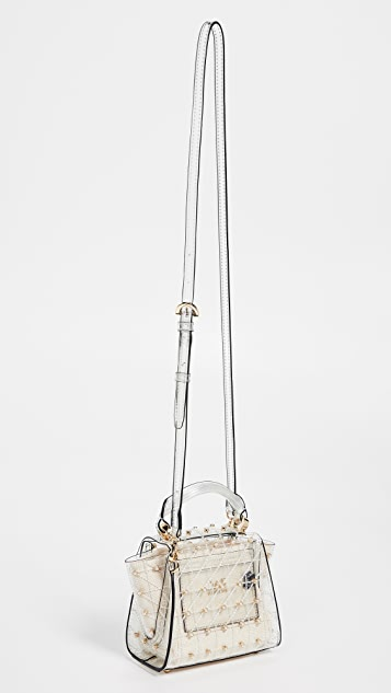 ZAC Zac Posen Eartha Quilted Pearl Lady Mini Top Handle Bag