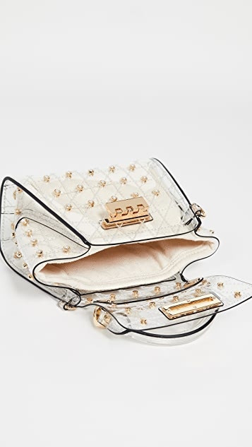 ZAC Zac Posen Eartha Quilted Pearl Lady Mini Top Handle Bag