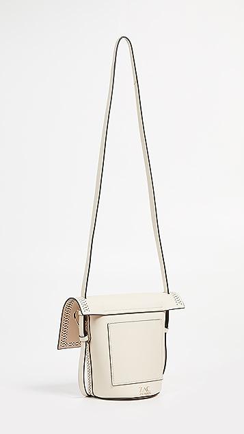 ZAC Zac Posen Belay Perforated Crossbody Bag