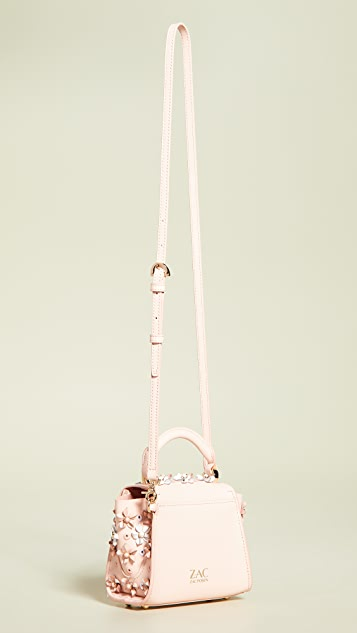 ZAC Zac Posen Миниатюрная сумка через плечо Eartha Kit с ручкой сверху