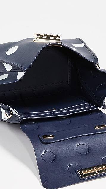 ZAC Zac Posen Eartha Top Handle Polka Dot Convertible Backpack