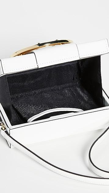 ZAC Zac Posen Большая объемная сумка через плечо Biba с пряжкой