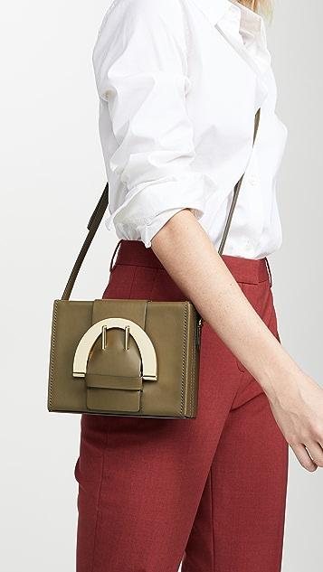 ZAC Zac Posen Большая сумка через плечо Biba с пряжками