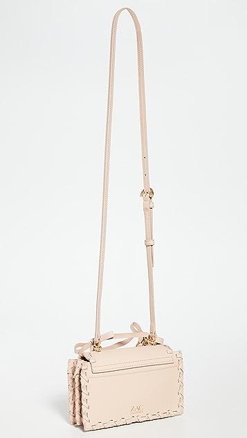 ZAC Zac Posen Миниатюрная сумка Earthette с ручкой сверху и цепочкой
