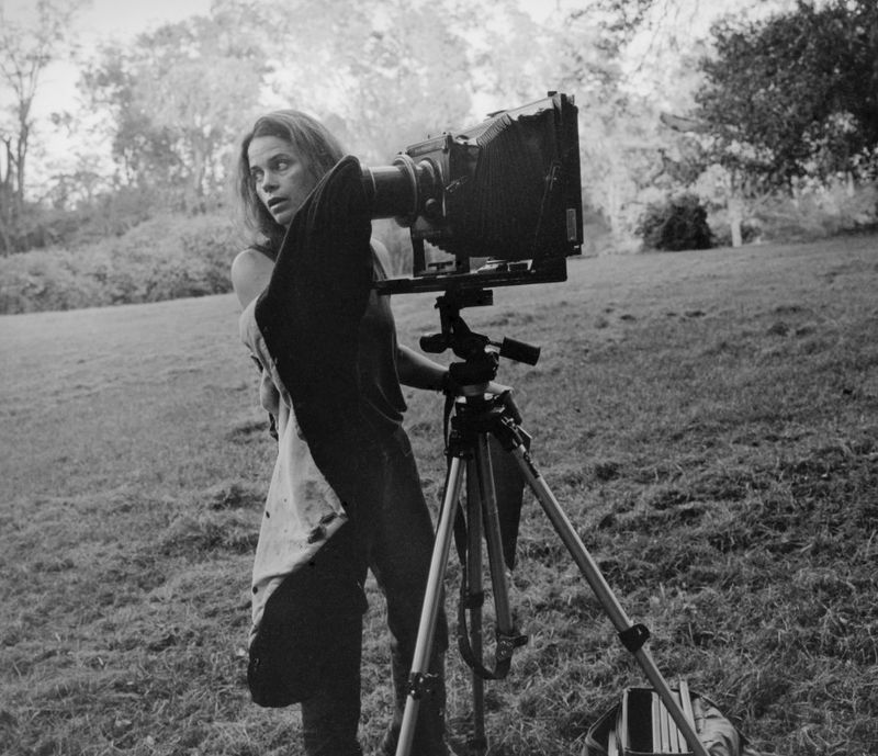 Sally Mann with Camera