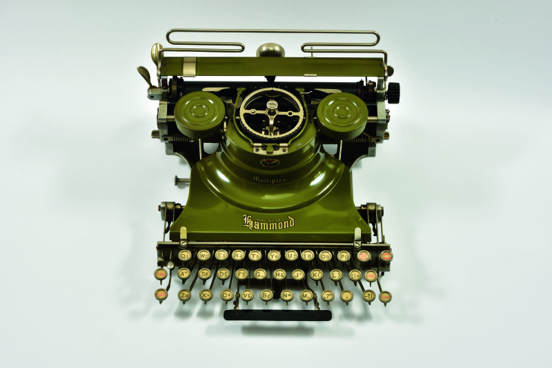 Typewriters_Hammond Multiplex (Green)