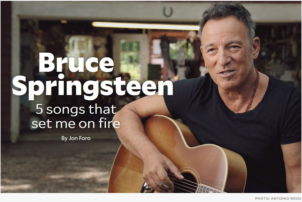 Amazon Book Review: Bruce Springsteen: Five Songs