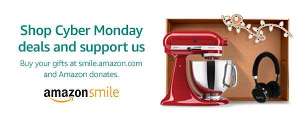Support us when you shop this Cyber Monday season