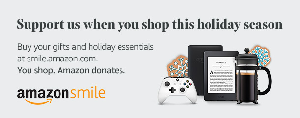 Support us when you shop this holiday season