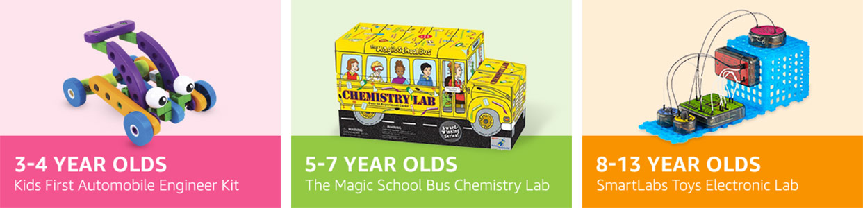 Amazon STEM Club Toy Subscription 3 4 Year Olds Memberships