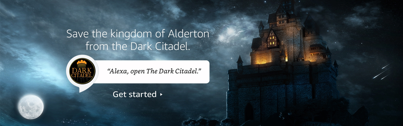 """Alexa, open Dark Citadel."""