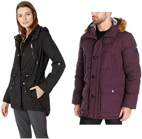Up to 45% off Men's and Women's Outerwear from Levi's, Calvin Klein, Tommy Hilfiger, and more