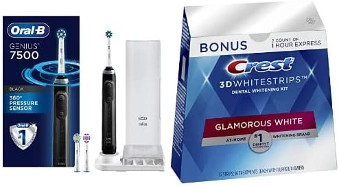 Up to 35% off oral care and whitening kits from Oral-B, Crest and more