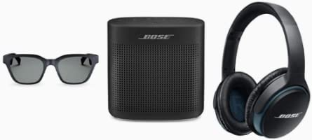 Up to 35% off Bose Headphones, Frames and Speakers