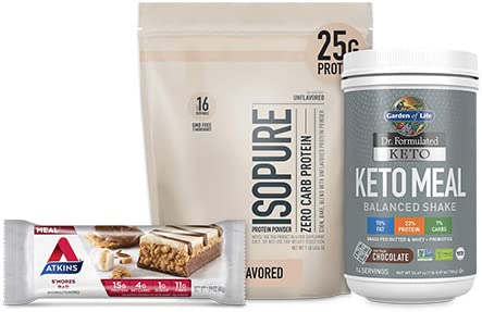 Up to 40% off Isopure, Atkins and other keto essentials