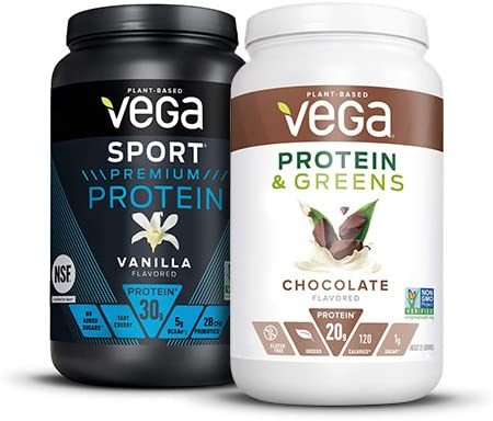 Up to 25% off Vega plant protein powders and shakes