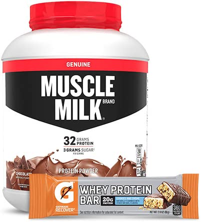 Up to 35% off protein supplements from Muscle Milk, Gatorade and more