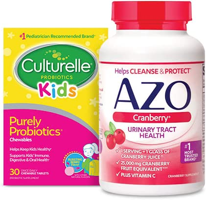 Up to 25% off on probiotics and supplements from Culturelle, AZO and more