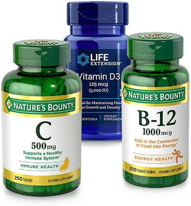 Up to 30% off Vitamin Bs, Cs and Ds from Nature's Bounty and more
