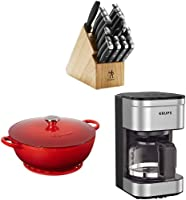 Today only and while supplies last, save on select Kitchen Essentials. Valid only when shipped & sold by Amazon.com