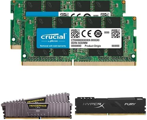 20% off in Corsair, Crucial and Hyperx DRAM