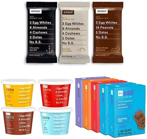 Up to 30% off RXBAR protein bars and oats