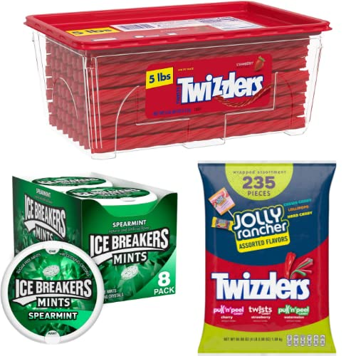 Save on TWIZZLERS, ICE BREAKERS and more