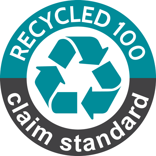 Recycled 100 Claim Standard Logo